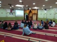 Austausch in der Moschee